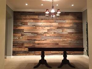 the hughes39 dining room reclaimed wood accent wall fama With best wood for accent wall