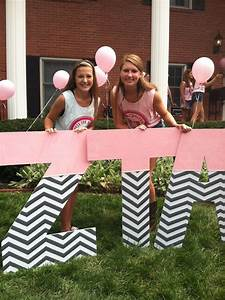184 best images about zeta tau alpha on pinterest With large wooden sorority letters