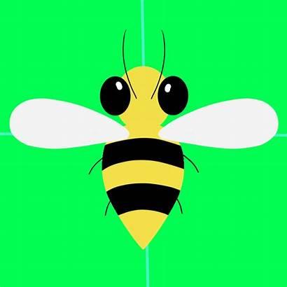 Derpibooru Bee Flying Animated Stinger Safe Solo