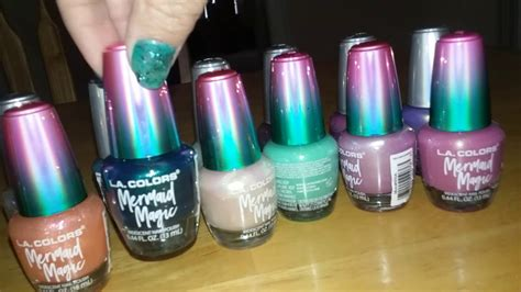 Metal Mermaids And Unicorns L.a. Colors Nail Polishes
