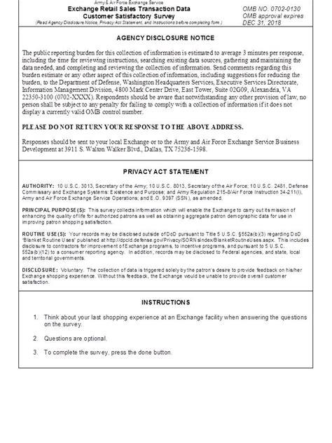 customer satisfaction survey introduction sample survey