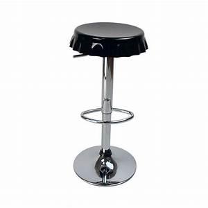 Tabouret Pas Cher : tabourets de bar cuisine noir capsule lot de 2 achat ~ Farleysfitness.com Idées de Décoration