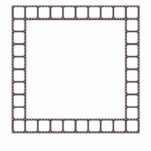 Filmstrip Border Frame - Digital Scrapbook Place Gallery ...