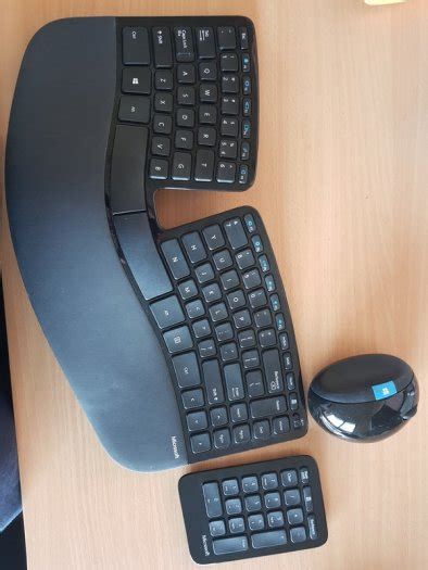 keyboard microsoft sculpt ergonomic desktop keyboard mouse