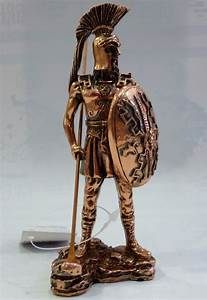 Ancient Greek Mythology Macedonian Phalanx Warrior Statue ...