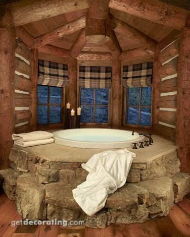 Log Cabin Tub by Log Cabin Tub Bath Tub Oh Yeah Home Log Home