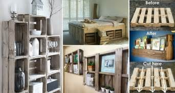 creative diy storage ideas  pallets