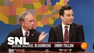 Weekend Update: Jimmy and Mayor Bloomberg - Saturday Night ...
