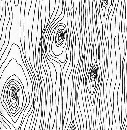 Curves Wood Grain Lines Wavy Texture Draw