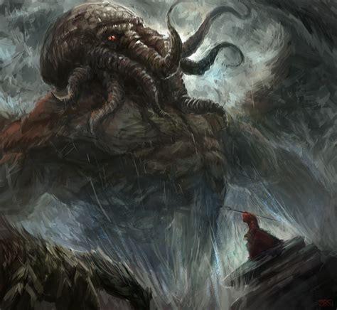 Summoning by Inkyh Cthulhu H.P. Lovecraft monster beast
