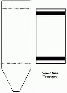 freecraftunlimitedcom crayon template cards With crayon labels template