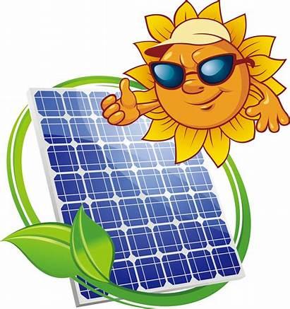 Solar Energy Clipart Power Transparent Panel Vtree