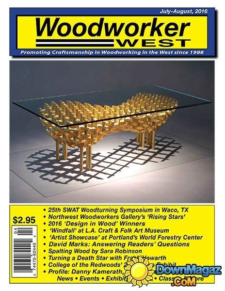 woodworker west july august