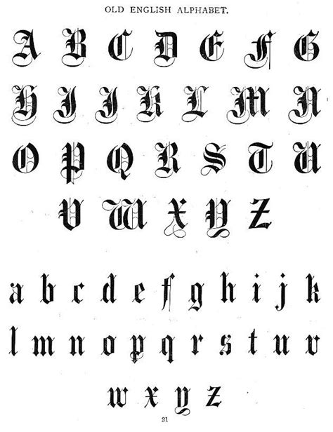 Aunt Louisa's First Book for Children - Typography - Old English Font | English fonts, Tattoo