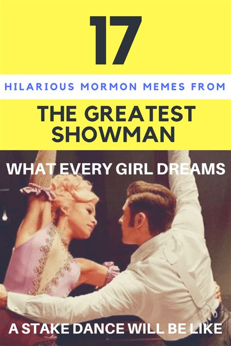greatest mormon memes   greatest showman