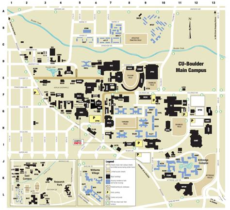 Oit Help Desk Cu Denver by Cu Boulder Cus Map Map3