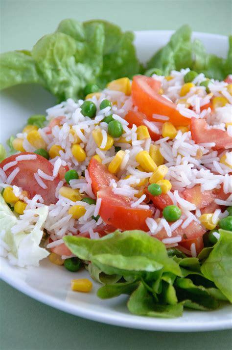 cuisiner des petits pois salade de riz les petits plats de gwendoline