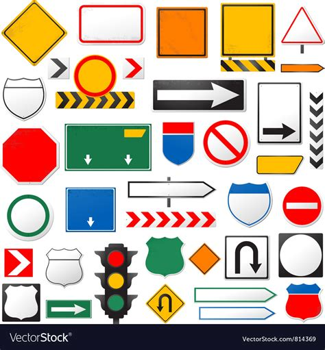 Download 115,434 road sign free vectors. Road signs Royalty Free Vector Image - VectorStock
