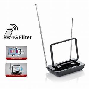 Antenne D Intérieur Tnt : one for all sv9015 antenne int rieure analogique et ~ Premium-room.com Idées de Décoration