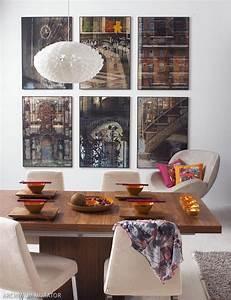 Domowa galeria zdjęć na ścianie