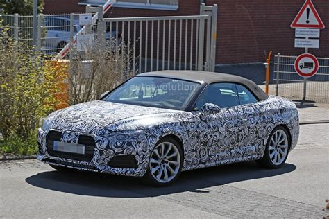2017 Audi S5 Cabriolet Reveals Bold Front End In Ring Spy
