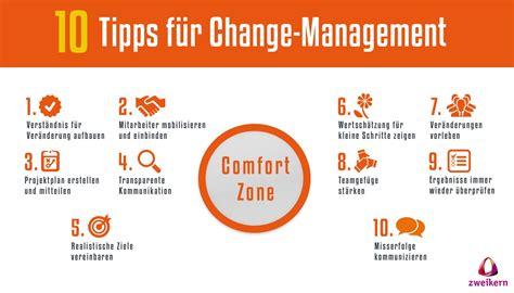 Change Management 10 Wege Zurück In Die Comfortzone
