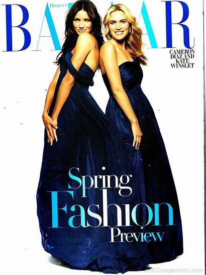 2007 January Bazaar Harper Oldmags Magazine Backissues