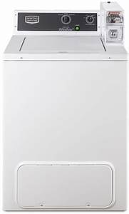 Maytag Mvw18csbww 27 Inch Commercial Top Load Washer With