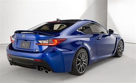 2019 Lexus Rc F  Updated For 10th Anniversary Cars