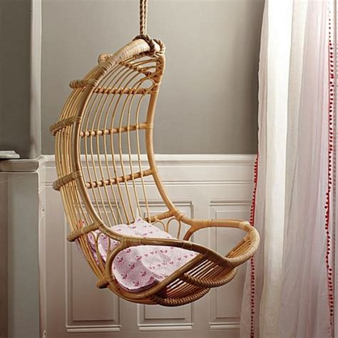 Swing Chair For Bedroom by Eggshell Shaped Bedroom Swing Chair