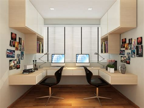 bartley residences interior design master common and study room