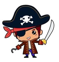 Cute Pirate Clip Art Free