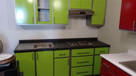 cocina integral verde  en mercado libre