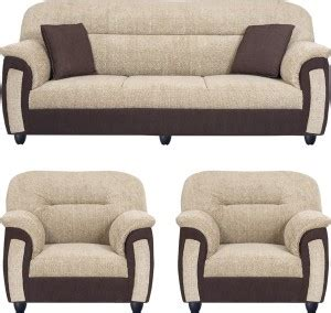 Sofa Sets With Price by Bharat Lifestyle New Sagittarius Fabric 3 1 1 Brown