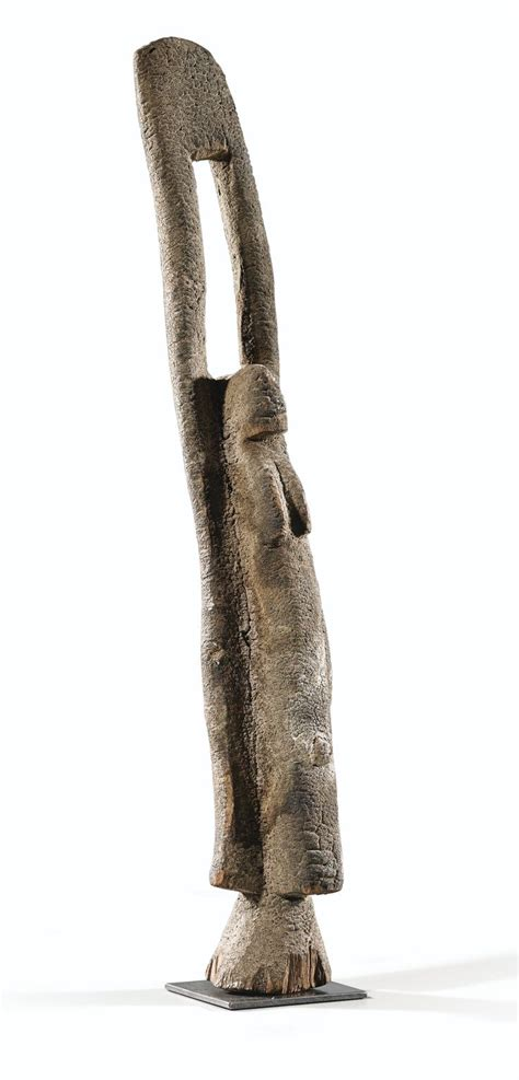 Statue, Dogon/Tellem, Mali | lot | Sotheby's | Arte ...