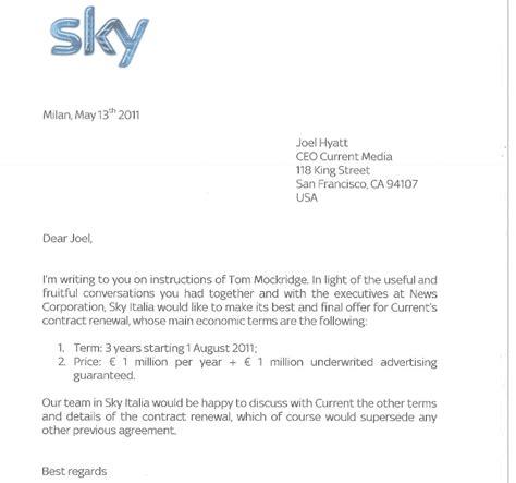 Ufficio Commerciale Fastweb by Current Quot Sky Ci Ha Tagliato Per Motivi Politici Ecco Le