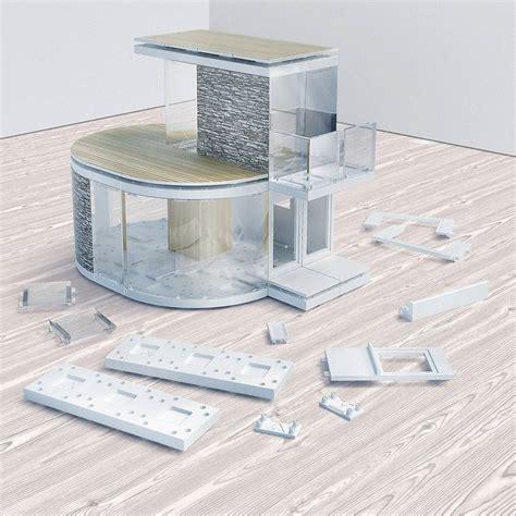 Architectural Model Making Kit Mini Curve By Arckit