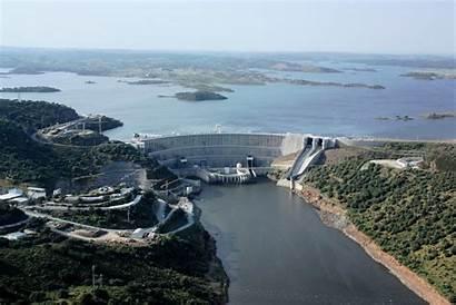 Alqueva Barragem Lago Embalse Portugal Megaconstrucciones