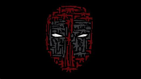 Awesome High Resolution Wallpapers Deadpool Mask Hd Background Wallpaper 21608 Baltana