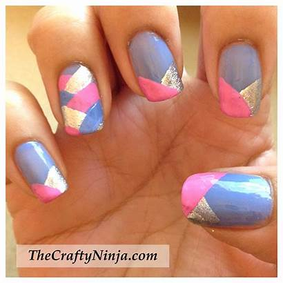 Braid Fishtail Nails Nail Tutorial Crafty Thecraftyninja