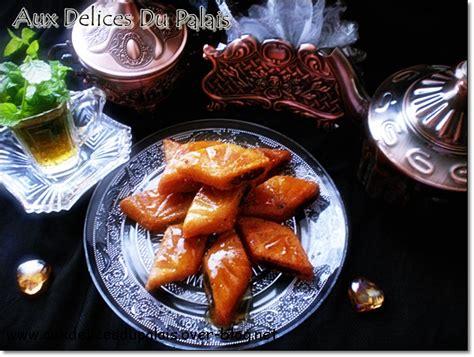 cuisine marocaine makrout aux dattes makrout makroud makroudh aux dattes aux délices du palais