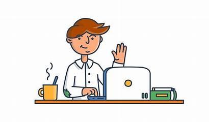 Clipart Job Working Worker Money Remote Dream