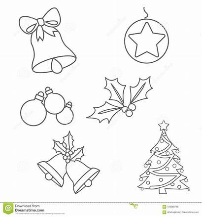 Coloring Christmas Ornaments Pages Ornament Colouring Printable