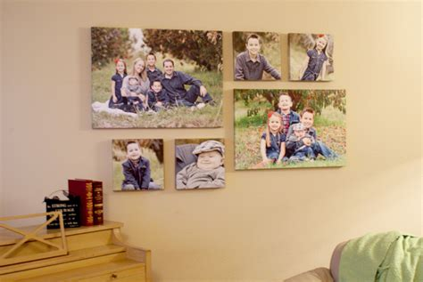 Photography Room Ideas, Canvas Family Wall Collage Ideas