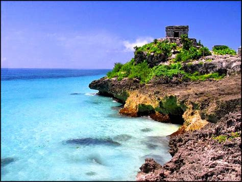 Travel Tulum The Historical Ruins With Wonderful Beaches