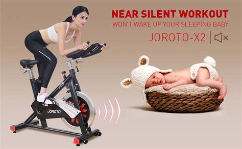 Amazon.com : JOROTO Belt Drive Indoor Cycling Bike with ...