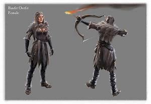 Female Bandit Video Games Artwork