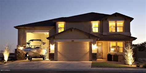 courtland tucson plan  rv garage homes
