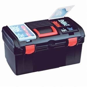 Boite A Compartiment : boite a outils 1 compartiment 2 cases avec poignee et couvercle ~ Teatrodelosmanantiales.com Idées de Décoration