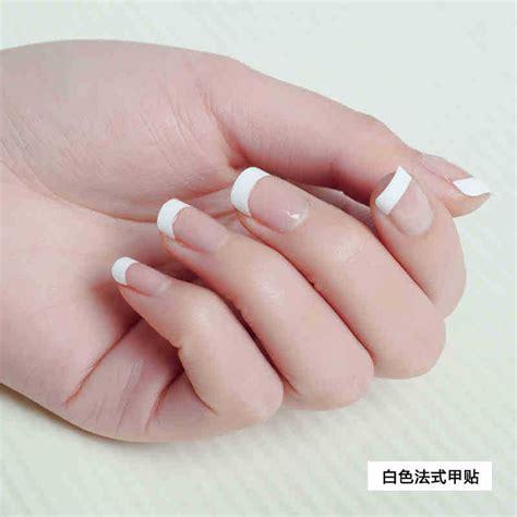 500 pcs false acrylic nail tips white